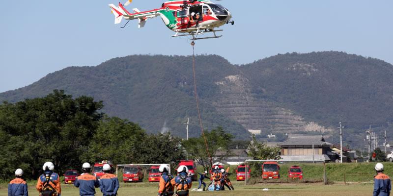 消防士とハイパーレスキュー隊の仕事